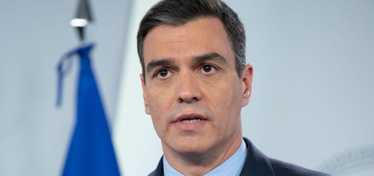 El presidente del Gobierno, Pedro Sánchez (Foto. Gobierno de España)