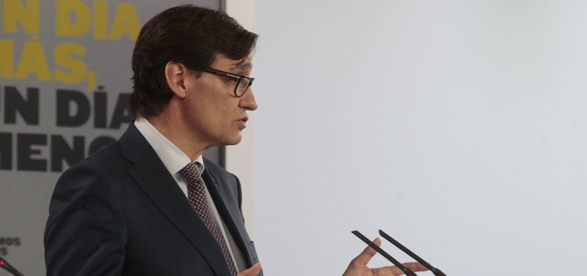 El ministro de Sanidad, Salvador Illa (Foto. Gobierno de España)