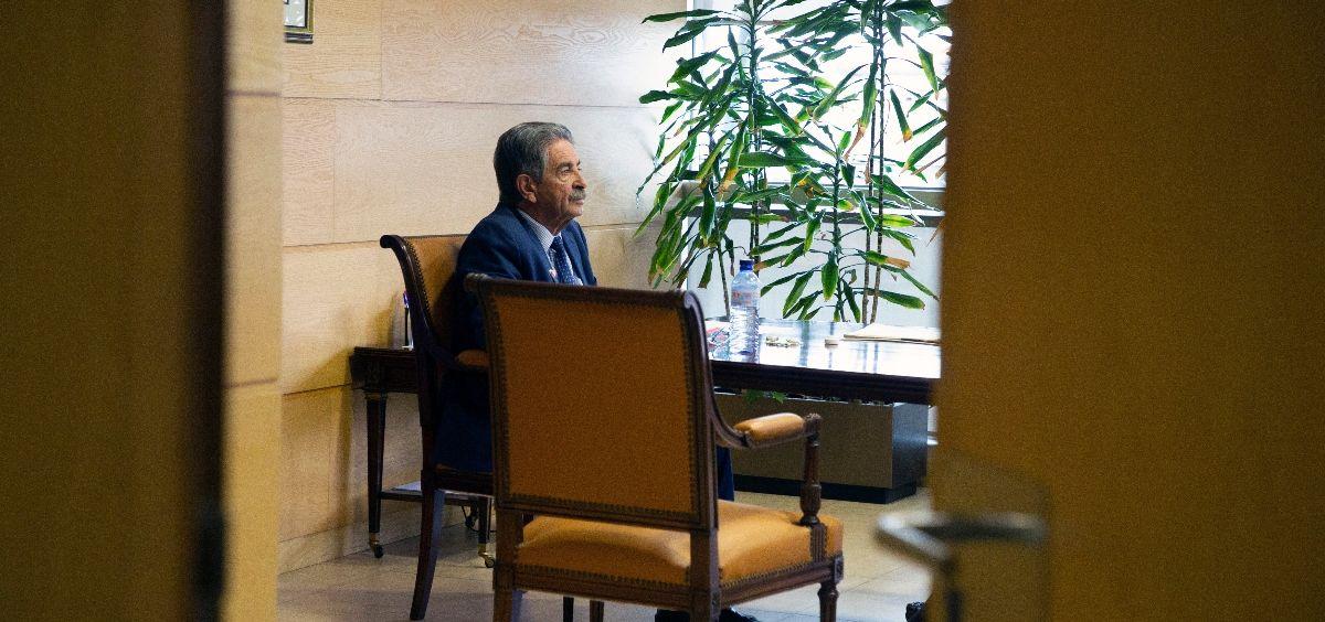 El presidente del Gobierno de Cantabria, Miguel Ángel Revilla. (Foto. Gobierno de Cantabria)