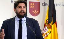 El presidente de la Comunidad, Fernando López Miras (Foto. Gobierno de Murcia)