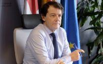 El jefe del Ejecutivo castellano y leonés, Alfonso Fernández Mañueco (Foto. Junta de Castilla y León)