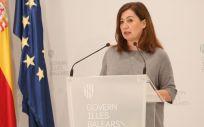 La presidenta, Francina Armengol (Foto. GOIB)