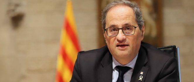 El presidente de la Generalitat Catalana, Quim Torra, (Foto. Generalitat Catalana)