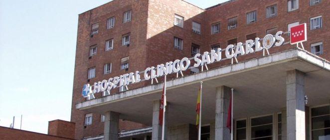 Fachada del Hospital Clínico San Carlos (Foto. Hospital Clínico)