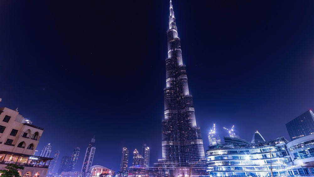 El Burj Khalifa, icono global en la lucha contra la Covid 19