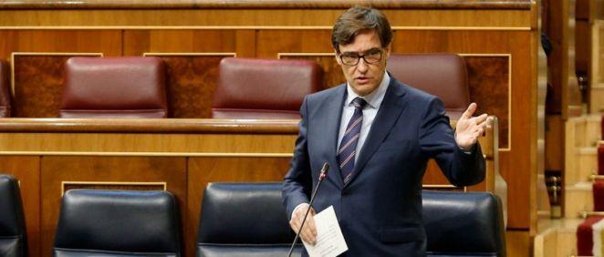 El ministro de Sanidad, Salvador Illa (Foto: Congreso)