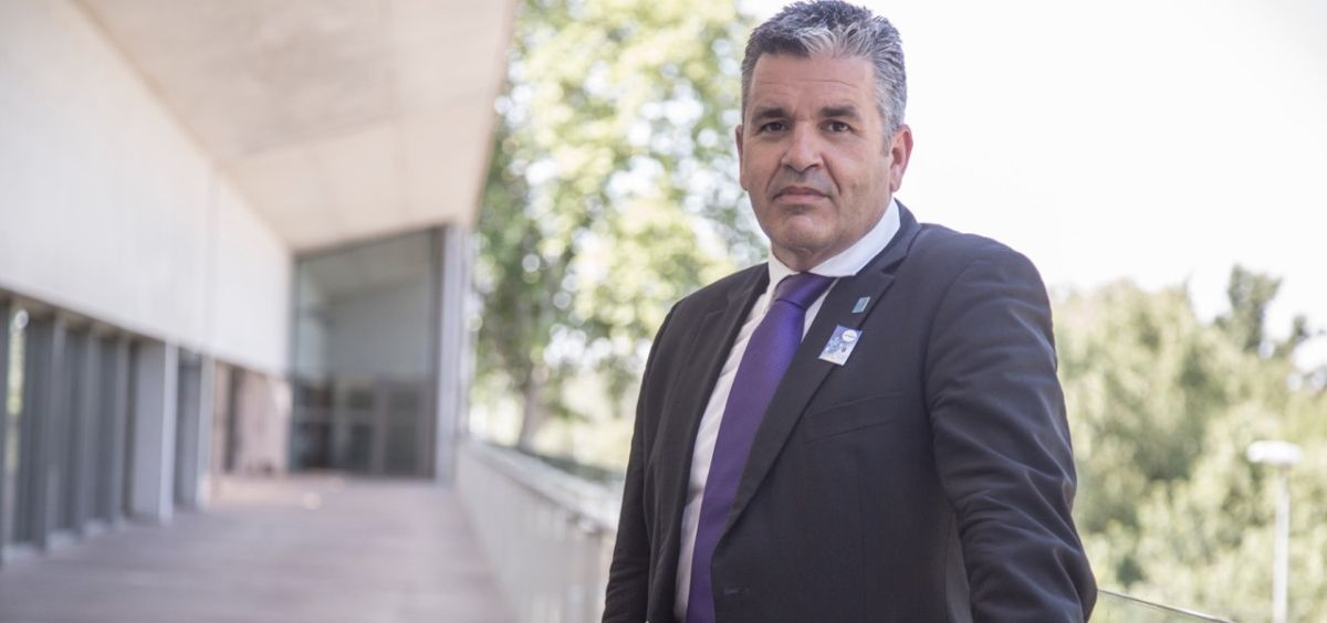Tato Vázquez Lima, presidente de la Sociedad Española de Medicina de Urgencias y Emergencias (Semes). (Foto. Chelo Lozano)