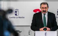 El consejero de Sanidad de Castilla La Mancha, Jesús Fernández Sanz (Foto. Castilla La Mancha)