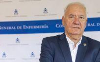 Florentino Pérez Raya, presidente del Consejo General de Enfermería (Foto. CGE)