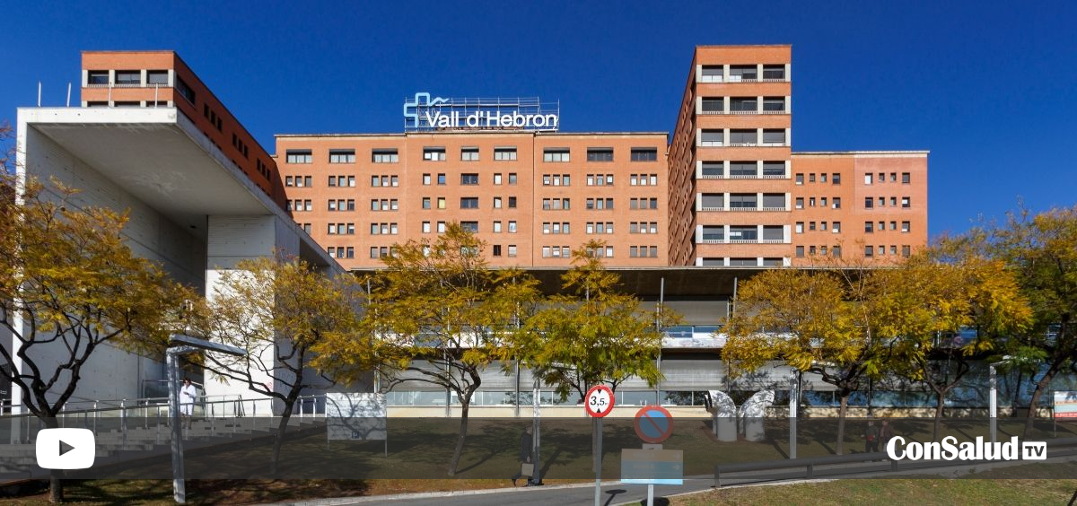 Fachada del Hospital Vall d'Hebron (Foto/Vídeo. ConSalud)