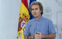 El director del Centro de Coordinación de Alertas y Emergencias Sanitarias del Ministerio de Sanidad, Fernando Simón (Foto. Moncloa)