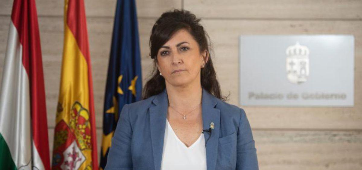 Concha Andreu, presidenta del Gobierno de La Rioja (Foto. Gobierno de La Rioja)