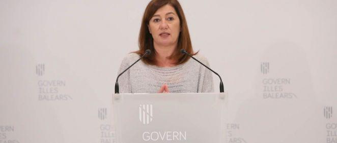 La presidenta del Govern, Francina Armengol (Foto. Caib.es)