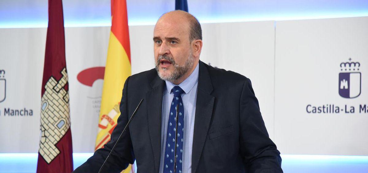 José Luis Martínez Guijarro, vicepresidente del Gobierno de Castilla-La Mancha (Foto. Gobierno de Castilla-La Mancha)