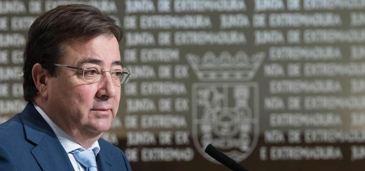 El presidente de la Junta de Extremadura, Guillermo Fernández Vara (Foto. Junta de Extremadura)