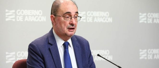 El presidente de Aragón, Javier Lambán (Foto. Aragón Hoy)