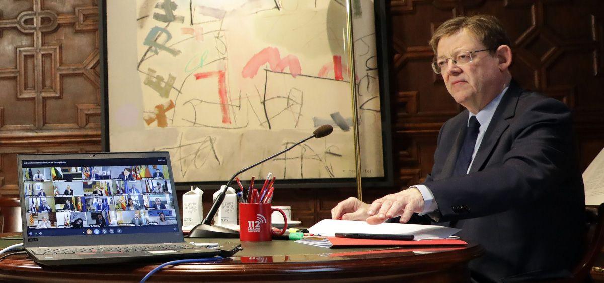 Ximo Puig, presidente de la Comunidad Valenciana (Foto. Comunitat Valenciana)