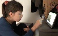 Niña con Síndrome de Dravet, epilepsia grave de origen genético. (Foto. Hospital Ruber Internacional)