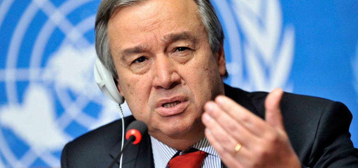 Antonio Guterres, secretario general de la ONU (Foto. ONU)