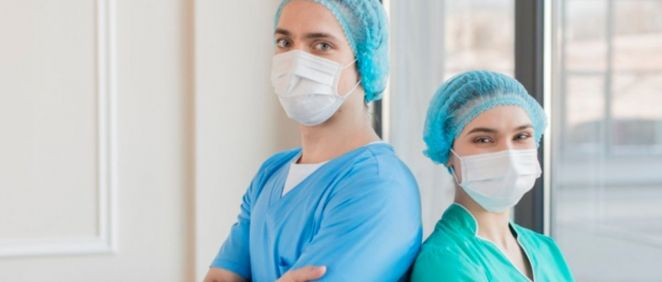 Fotografía enfermeros (Foto. Freepik)
