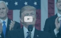 Donald Trump, presidente de Estados Unidos, declara estado de emergencia Nueva York