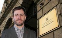 El consejero de Salud de Cataluña, Toni Comín.