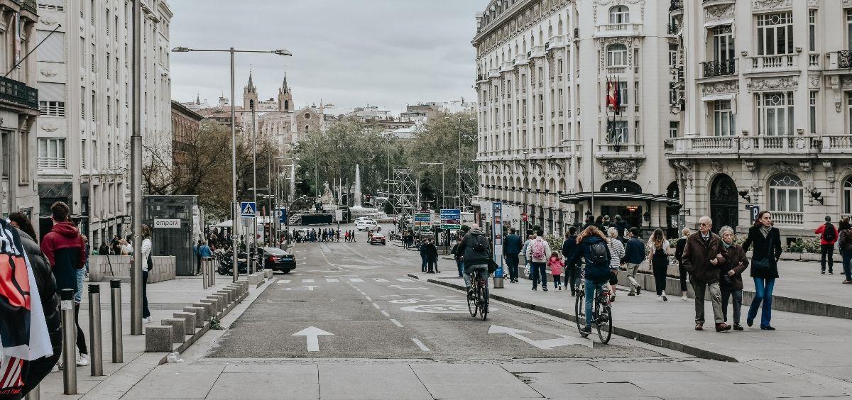 Carrera de San Jerónimo en Madrid. (Foto. Unsplash)