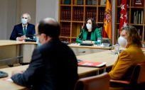 La máxima responsable del Ejecutivo regional, Isabel Díaz Ayuso, preside la reunión (Foto: Comunidad de Madrid)