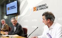 Rueda de prensa sobre la actualidad del coronavirus (Foto. Gobierno de Aragón)
