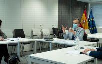 Ministro de Ciencia en videoconferencia con científicos (Foto: Ministerio Ciencia)