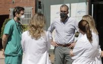 Javier Ortega Smith, a su salida del hospital (Foto: @Ortega_Smith)