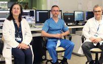 Cristina Fernández Pérez, Iván Núñez Gil y Vidente Estrada Pérez (Foto. ConSalud)