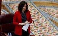 La presidenta de la Comunidad de Madrid, Isabel Díaz Ayuso (Foto. Gobierno de la Comunidad de Madrid)