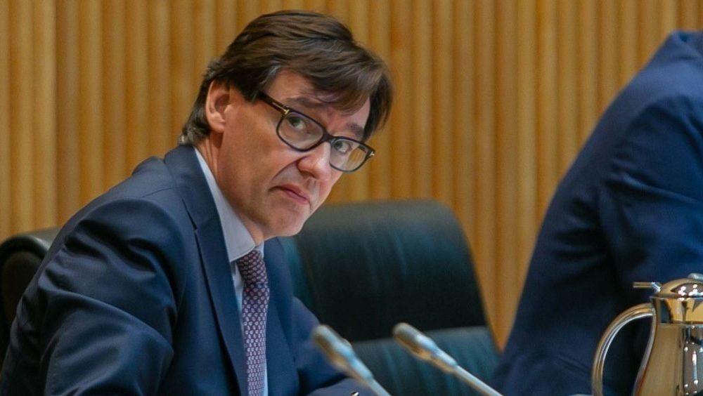Salvador Illa, ministro de Sanidad, en la Comisión de Sanidad del Congreso (Foto: Flickr PSOE)