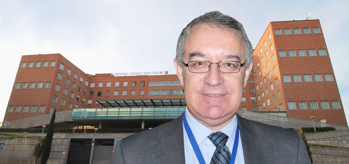José Soto, gerente del Hospital Universitario Clínico San Carlos (Foto. Comunidad de Madrid)