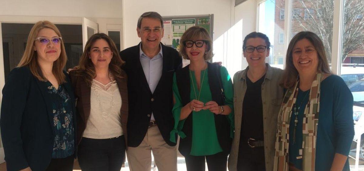 Investigadores Minerva Granado, Esther Rubinat, Didac Mauricio, Nuria Alcubierre, Esmeralda Castelblanco y Marta Hernández (Foto. ConSalud)