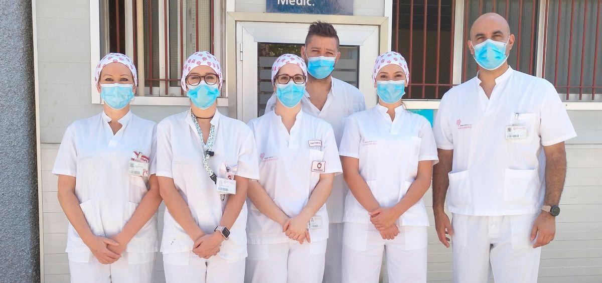Test en Ayuntamiento de Elche (Foto. Hospital Vinalopó)