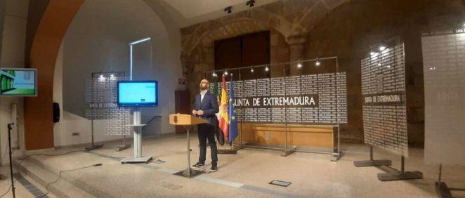 Presentación declaración Extremadura (Foto: JuntaEx)