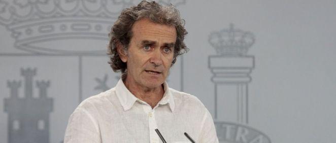 El director del CCAES, Fernando Simón (Foto: Pool Moncloa / José María Cuadrado)