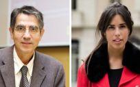 Ramón Gomis y Diana Díaz (Foto. ConSalud)