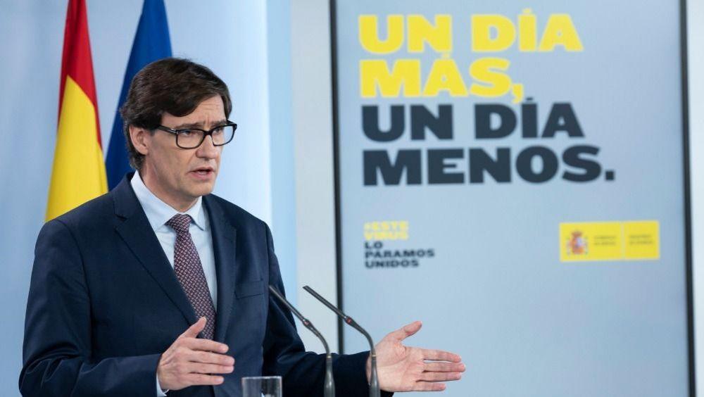 El ministro de Sanidad, Salvador Illa (Foto: Moncloa)