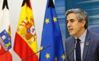 El vicepresidente del Gobierno cántabro, Pablo Zuloaga (Foto: Oficina de Comunicación)