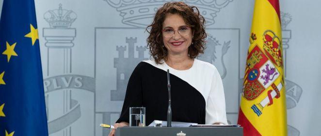 María jesús Montero, ministra de Hacienda (Foto: La Moncloa)