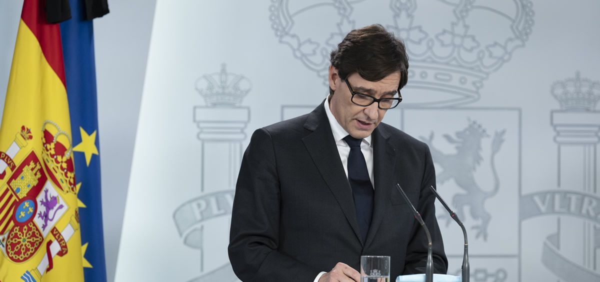 El ministro de Sanidad, Salvador Illa. (Pool Moncloa/Borja Puig de la Bellacasa)