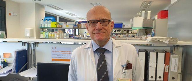 Dr. José María Aguado, jefe de la sección Unidad de Enfermedades Infecciosas Medicina Interna del 12 de Octubre (Foto. ConSalud)