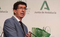 Juan Marín, vicepresidente de la Junta de Andalucía (Foto: @JuanMarin_Cs)