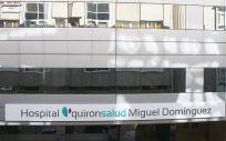 Fachada del Hospital Quirónsalud Miguel Domínguez