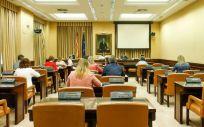 El Grupo de Trabajo de Sanidad y Salud Pública de la Comisión para la Reconstrucción Social (Foto: Congreso)