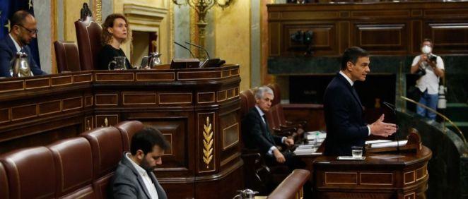 El presidente del Gobierno, Pedro Sánchez (Foto: Congreso de los Diputados)