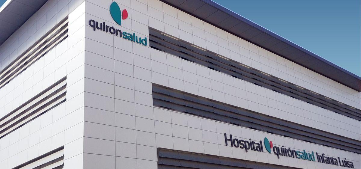Fachada del Hospital Quirónsalud Infanta Luisa